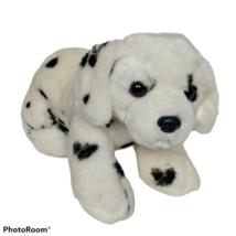 "Aurora White Dalmatian Puppy Dog Plush Stuffed Animal 2017 12"" - $26.42"