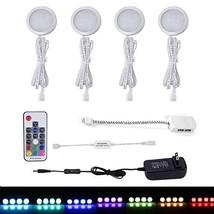 AIBOO RGB Color Changing LED Under Cabinet Lights Kit, Aluminum Slim Mul... - $27.11