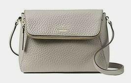 New Kate Spade New York Berrin Carter Leather handbag Soft Taupe - $129.00