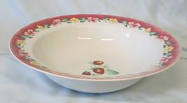 """Pfaltzgraff Atmosphere Grandma's Kitchen Rim Serving Bowl 10"""" - $25.63"""