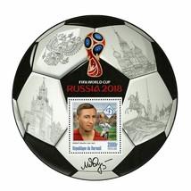 FIFA World Cup Russia 2018 Soccer Player Mikhail Yakushin Sport Souvenir... - $15.62