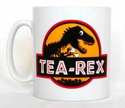 Tea - Rex Cuppa Mug Can Be Personalised Funny Dinosaur T-Rex Paleontolog... - $11.40