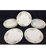 "(11) Edwin Knowles Princess Fine China 10"" Dinner Plates W1835-UG Made I... - $99.99"