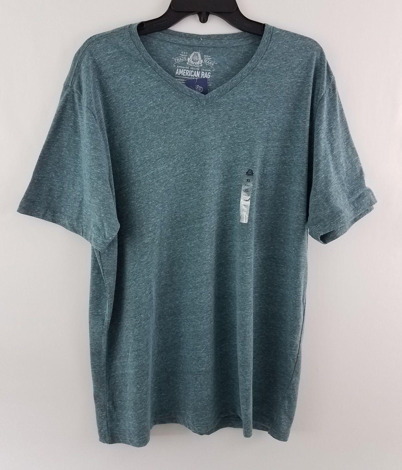 American Rag Cie Men's Tri Blend T-Shirt Barbados Blue 152536