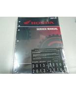 2013 2014 2015 2016 2017 2018 2019 HONDA CBR600RR/RA CBR Service Shop Ma... - $128.65