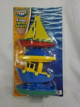 Summer fun 4 pack mini boats..Pool Toy Floating Boats  Really Floats Pol... - $17.99