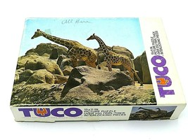 Vintage Tyco Giraffe Jigsaw Puzzle - Over 250 Pieces - Complete - $19.95