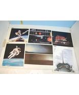 Lot of Six NASA Space Color Photo Prints - $14.00