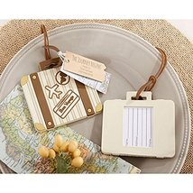 Let The Journey Begin Vintage Suitcase Luggage Tag (pack of 40) - $133.33