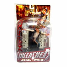 New Star Wars Unleashed Han Solo Action Figure Collectible 2003 Hasbro 7... - $154.28