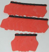 Destron Fearing DuFlex Large Panel Tags for Livestock Red Blank 25 Sets image 5