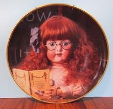Portrait of Sophie Hanau Doll Museum Franklin Mint Collector Plate - $16.04
