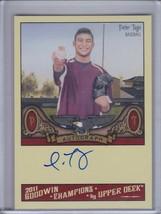 PETER TAGO 2011 Upper Deck Goodwin Champions Autograph #A-PT (C3619) - $2.66