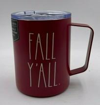Rae Dunn Fall / Thanksgiving FALL YALL Insulated Wine Mug. NEW - $19.79