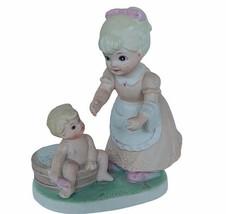 Homco Figurine baby boy bubble bath barrel Mothers Day Home Interior Gif... - $23.71