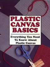 "Plastic Canvas Basics 29 Page Instruction Booklet ""Everything You Need t... - $2.67"