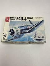 Vintage 1/72 scale Chance-Vought F4U-4 Corsair by AMT open box - $18.48