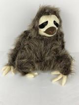 "Fiesta Plush Stuffed Animal Sloth 9.5"" Sitting 3 Toed Sloth for Boys and... - $22.76"