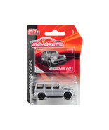 Mercedes AMG G 63 Silver Premium Cars 1/61 Diecast Model Car by Majorett... - $19.56