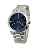 Burberry Mens Watch BU9363 The City Blue Dial Swiss Chronograph Analog D... - $229.00