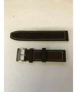 NEW Citizen Avion AW1361-10H  22mm Brown Leather Band Strap Replacement ... - $59.99