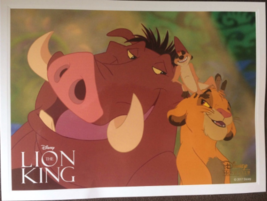 The Lion King Lithograph Disney Movie Club Exclusive 2017 NEW - $11.99