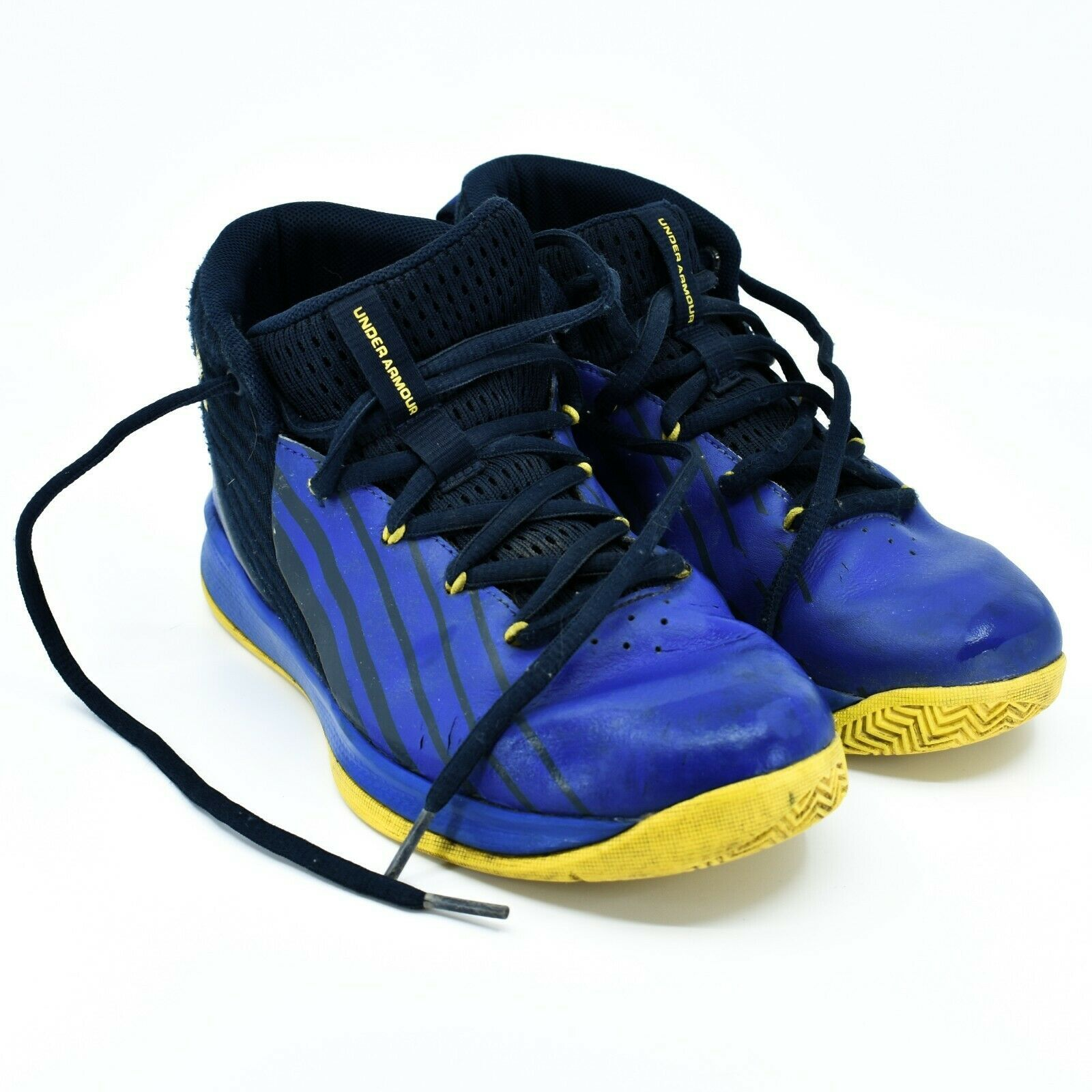 Under Armour Boys' Pre-School UA Lockdown 3 Basketball Shoes Youth Size 3Y