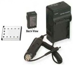 Battery + Charger For Casio EX-Z33 EX-H5BK EX-S8BE EX-S8BK EX-S8PE EX-S8PK - $26.04