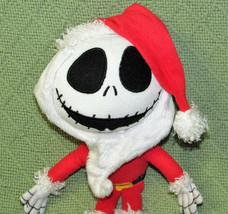 """DISNEY KCARE JACK SKELLINGTON SANTA CLAUS PLUSH NIGHTMARE BEFORE CHRISTMAS 9"""" image 2"""