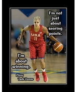 Elena Delle Donne Inspirational Basketball Motivation Poster Quote Wall ... - $19.99+