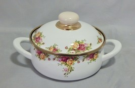 Royal Albert Old Country Roses Cookware 1 1/2 Quart Covered Pot - $35.64