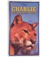 Charlie the Lonesome Cougar Disney VHS Movie New Factory Sealed  - $18.00