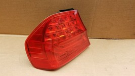 09-11 BMW E90 328 335 Sedan LCI Outer Tail Light Taillight Driver Left LH image 1
