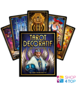 TAROT DECORATIF CARDS DECK AND BOOK SET US GAMES SYSTEMS MARCHETTI ESOTE... - $50.08
