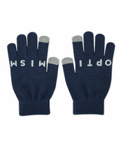Life is Good Women's Optimistic Snowflake Texting Gloves Darkest Blue One Size