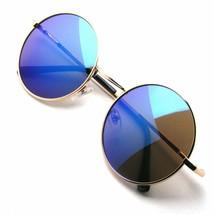 Retro Runde Metall Damen Herren Mode Brillengestell Linse Sonnenbrille B... - $7.11+