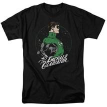Green lantern t shirt retro 80s dc comic book cartoon superhero black tee dco808 thumb200