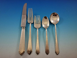 William and Mary by Lunt Sterling Silver Flatware Set Service 34 pieces - $1,995.00