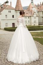 Luxury Wedding Bridal Ball Gown Sweetheart Neckline Lace Up image 4