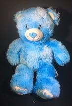 """16"""" BUILD A BEAR BLUE TEDDY BEAR BAKESHOP SPRINKLES DONUT STUFFED ANIMAL... - $17.33"""