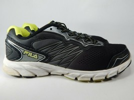 Fila Indus Cool Max Size 11 M (D) EU 45 Men's Running Shoes Black 1SR20883-409