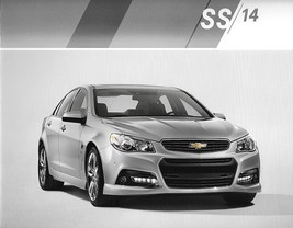 2014 Chevrolet SS sales brochure catalog US 14 Chevy Holden Commodore V - $12.00