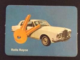 1972 Milton Bradley Seance Game - ROLLS ROYCE Card ONLY - $15.00