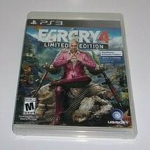 Far Cry 4 -- Limited Edition (Sony PlayStation 3, 2014) - $13.46