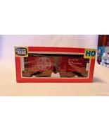HO Scale Life-Like ATSF Santa Fe Box Car, Brown, #16927 BNOS - $14.85