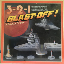 NEW 3-2-1 BLAST OFF BOARD GAME Vintage 1991 Rocket Space Race Starbase Game - $8.54
