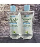 Simple Sensitive Skin Micellar Cleansing Water Boost 13.5oz Lot of 2 - $17.40