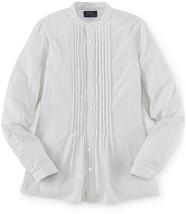 Ralph Lauren Girls' Long-Sleeve Pintucked-Bib Blouse, Size 7, MSRP $49.5 - $23.36