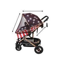 Stroller Mosquito Net, Universal Baby Stroller Mosquito Cover Drawstring... - $12.86