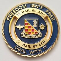 Us Army Garrison Humphreys South Korea Guardrail Rail 06 Ams 07 Leh Coin - $74.24